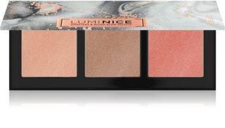 Catrice Luminice Highlight&Bronze Glow élénkítő púderek palettája