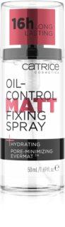 Catrice Oil-Control Matt матирующий спрей для фиксации макияжа