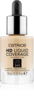 Catrice Mini HD Liquid Coverage dlhotrvajúci zmatňujúci make-up mini