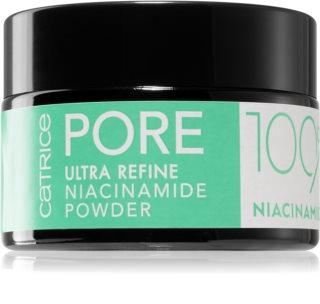 Catrice Pore Ultra Refine Niacinamide Powder Irtopuuteri Rasvaiselle Ja Yhdistelmä-Iholle
