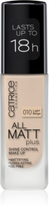 Catrice All Matt Plus тональний крем з матуючим ефектом