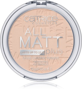 Catrice All Matt Plus ματ πούδρα