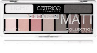 Catrice The Modern Matt Collection paleta farduri de ochi