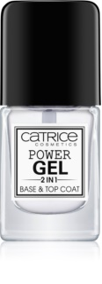 Catrice Power Gel 2 in1 bázis- és fedőlakk