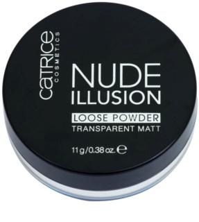 Catrice Nude Illusion матираща транспарантна  пудра