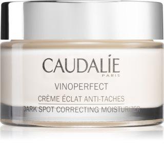Caudalie Vinoperfect дневен крем против пигментни петна за озаряване на лицето