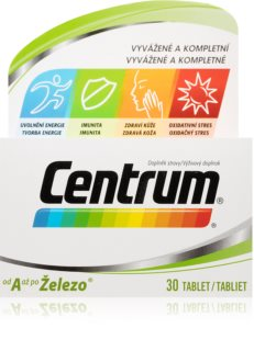 Centrum Multivitamin A-Z doplněk stravy s kompletní řadou vitamínů, minerálů a stopových prvků