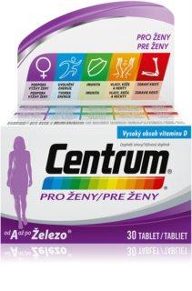 Centrum Pro ženy multivitamín od A až po železo