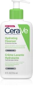 CeraVe Cleansers tisztító emulzió hidratáló hatással