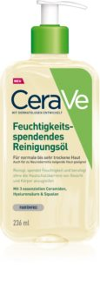 CeraVe Cleansers aceite limpiador con efecto humectante