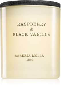 Cereria Mollá Boutique Raspberry & Black Vanilla Tuoksukynttilä