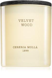 Cereria Mollá Boutique Velvet Wood bougie parfumée
