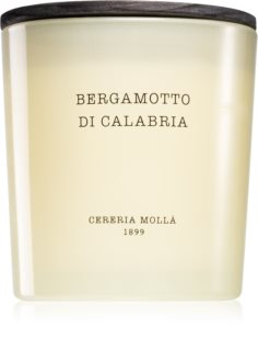 Cereria Mollá Boutique Bergamotto di Calabria Tuoksukynttilä