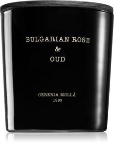 Cereria Mollá Boutique Bulgarian Rose & Oud bougie parfumée