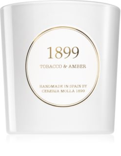 Cereria Mollá Gold Edition Tobacco & Amber Tuoksukynttilä