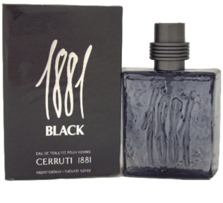 Cerruti 1881 Black eau de toillete για άντρες