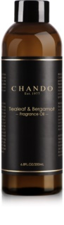 Chando Fragrance Oil Tealeaf & Bergamot refill for aroma diffusers