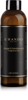Chando Fragrance Oil Ginger & Sandalwood recarga para difusor de aromas