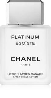 Chanel Égoïste Platinum νερό για μετά το ξύρισμα για άντρες