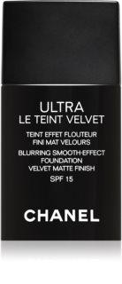 Chanel Ultra Le Teint Velvet langanhaltende Foundation LSF 15