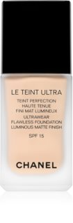 Chanel Le Teint Ultra дълготраен матиращ фон дьо тен SPF 15