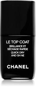 Chanel Le Top Coat покрывающий защитный лак для ногтей с блеском