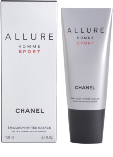 Chanel Allure Homme Sport bálsamo after shave para homens