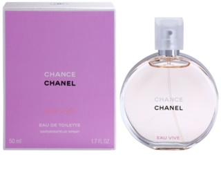 Chanel Chance Eau Vive Eau de Toilette para mulheres