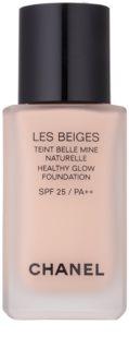 Chanel Les Beiges озаряващ фон дьо тен за естествен вид SPF 25