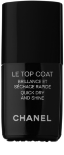 Chanel Le Top Coat esmalte de uñas capa superior con brillo