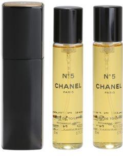 Chanel N°5 eau de toilette (1x refillable + 2x refill) for Women
