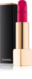Chanel Rouge Allure Velvet barra de labios con textura de terciopelo con efecto mate