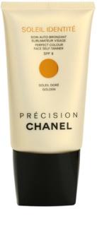 Chanel Précision Soleil Identité κρέμα αυτομαυρίσματος για το πρόσωπο SPF 8