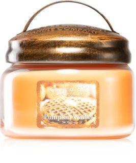 Chestnut Hill Pumpkin Waffles vela perfumada