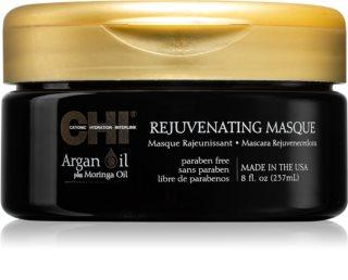 CHI Argan Oil θρεπτική μάσκα για ξηρά και κατεστραμμένα  μαλλιά