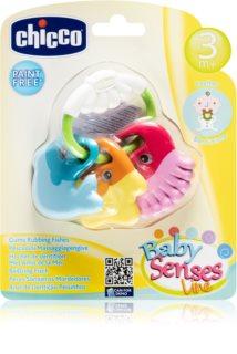 Chicco Baby Senses jucărie pentru dentiție 3m+ Fish