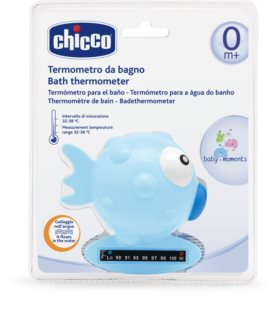 Chicco Baby Moments Thermometer für das Bad Blue