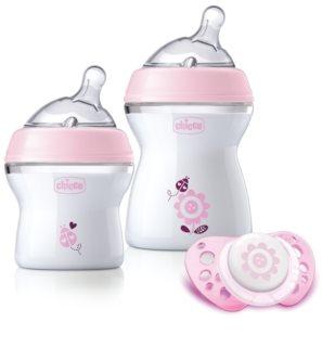 Chicco Natural Feeling Pink coffret cadeau pour bébés Girl