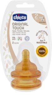 Chicco Original Touch tettarella per biberon 2m+ Adjustable