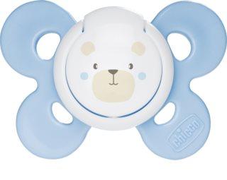 Chicco Physio Comfort Bear/Raccoon dudlík 0-6m Boy