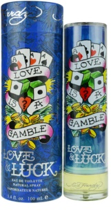 Christian Audigier Ed Hardy Love & Luck Man eau de toilette per uomo