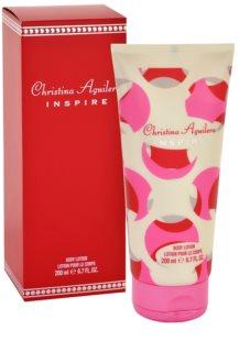 Christina Aguilera Inspire latte corpo da donna