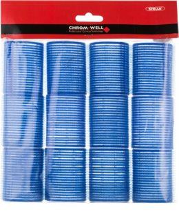 Chromwell Accessories Blue папильотки на липучке для волос