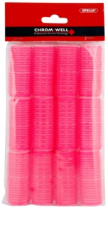 Chromwell Accessories Pink bigodini velcro