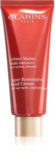 Clarins Super Restorative Hand Cream крем за ръце, възстановяващ еластичността на кожата