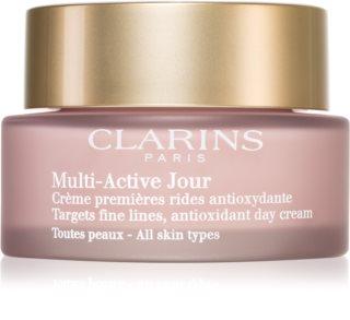 Clarins Multi-Active Day crema giorno antiossidante contro i primi segni di invecchiamento della pelle