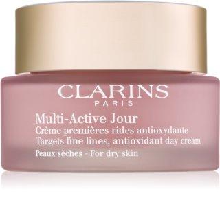 Clarins Multi-Active crema giorno antiossidante per pelli secche
