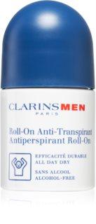 Clarins Men Antiperspirant Roll-On antitraspirante roll-on senza alcool