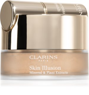Clarins Skin Illusion Loose Powder Foundation pudrasti make-up s čopičem
