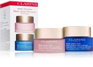 Clarins Multi-Active косметичний набір (для всіх типів шкіри)